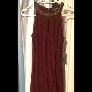 Ralph Lauren Red Evening Dress